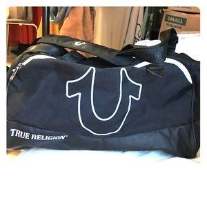 Women s True Religion Black Duffle Bag on Poshmark e0a390b97aaa0